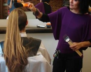 Forced female haircut story