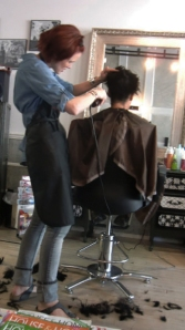 Salon Big Chop