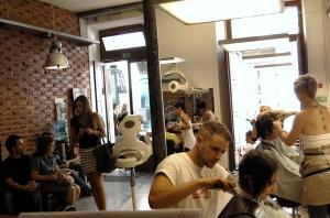 Salon Scene