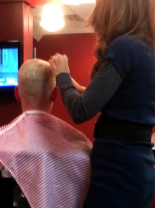 High & Tight Female Haircut by Barberette
